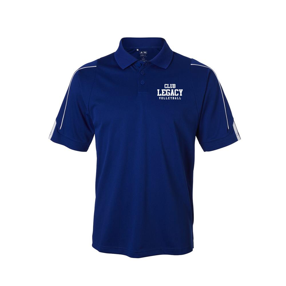 3a59aec0 PB18-Men's Adidas – Climalite 3-Stripes Cuff Sport Shirt